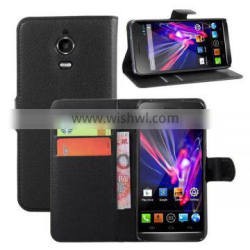 High Quality Leather Wallet For Wiko Wax Case