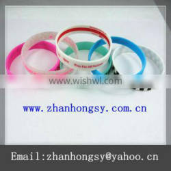 Dongguan gifts professional cheap custom silicone bracelets