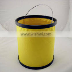 High Quality Foldable Promotional Collapsible Folding Bucket