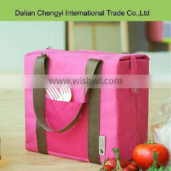 fancy portable folding insulated lunch bag