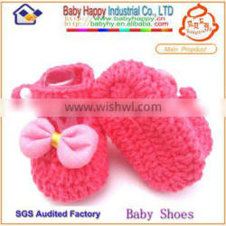 Nice design wool knitted baby winter boots