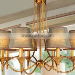 2016 new wrought iron candle chandelier lighting