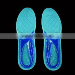 Trade Assurance charming design TPE shoe inserts absorb shock gel pad for shoes happyfeet cooling insole in all season