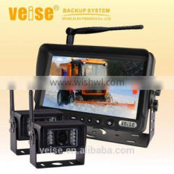 New 7 inch wireless security camera system with cctv wireless backup camera