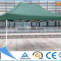 Quickest Delivery Time Promotional 3x4.5M Green Pop Up Sunny Tent