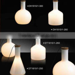 Form Pendants Cone High quality durable glass bottle pendant table lighting for hotel