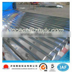 aluminum roofing sheet produced by aluminum manufacturer
