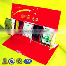 Red Cigarette Display Stand