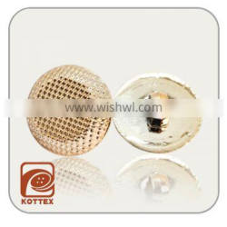 ABS Plastic Rose Gold Plating Color Shank Button Has Lots Spots On The Faces For Garment Coat, Sweater