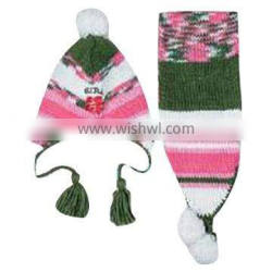 Knitted Hat in 2 sets