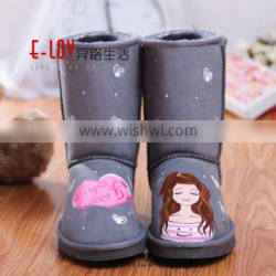 2016 hot sales high quality and cheap women boots winter snow