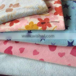 100 polyester 288F super soft flannel fabric