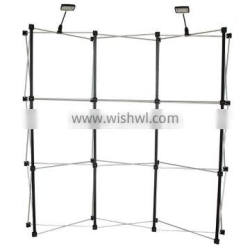 Suzhou Factory Portable and folding trade show advertising aluminum pop up display stand