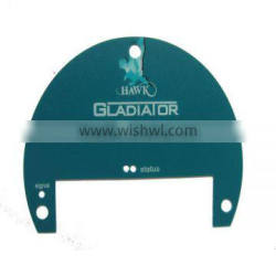 Custom Screen Printing Flat Plastic Nameplate For Home Appliance Quality Choice