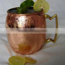 OLD STYLE MOSCOW MULE COPPER MUG FOR VODKA BRANDS PROMOTION