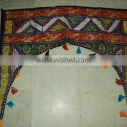 indian patchwork ethnic wall hangings torans