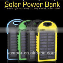 valued waterproof dirtproof 5000 mAh stockproof solar power bank Quality Choice Supplier's Choice