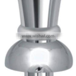 Chrome Plated Brass Top Hat Finial