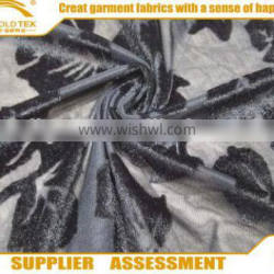 High quality velour jacquard knitted fabric supplier in Keqiao