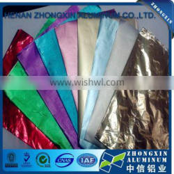 Coated Color Food Grade Aluminum Cheese Foil in Roll