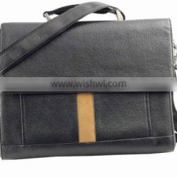 Top grade fashion men's briefcase,Genuine leather briefcase,Business briefcase,High quality briefcase with handles and one band
