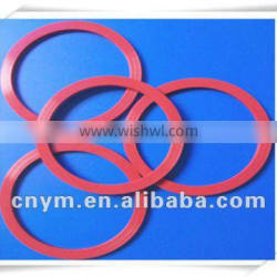 Colored flat rubber gasket