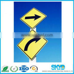 pp plastic sheet corrugated sheet for road sign