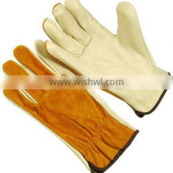 Contrast Panel Working Gloves