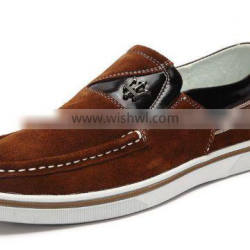 2015 man leather colorfully casual shoe