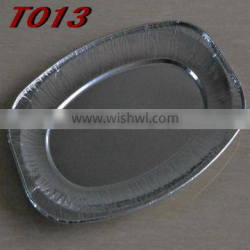 10 inches Oval Foil Tray T013