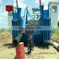 cheap price mini sand suction dredger and small sand dregder