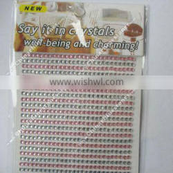 3MM Crystal Rhinestone Stickers for cars