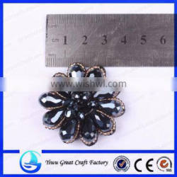 Supply the circular bead shoe accessories measle shoes flowers cloth flower corsage, manual