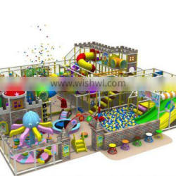 Colorful Indoor Naughty Castle Playground