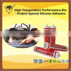 High Temperature Performance Rtv Project Special Silicone Adhesive