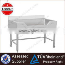 Europe Style Chinese Stainless Steel Kitchen Commercial Sink
