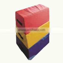 High quality Safe eco-friendly Kids soft trapezoid indoor soft play equipment