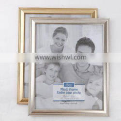new plastic photo frame for picture decoration