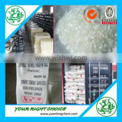 Hot sales to South America Fully refined Paraffin Wax for making cosmetics and candles
