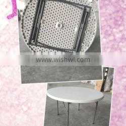 48'' plastic round events table