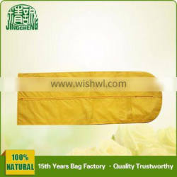 Mothproof Yellow Non Woven Wedding Dress Bridal Gown Cover