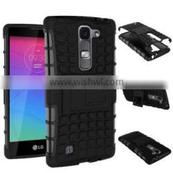 2015 hot selling Plastic and TPU combo defender case for LG Magna