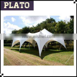 White big stretch party tents ,outdoor luxury stretch wedding tent for sale