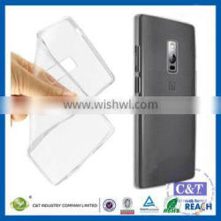 C&T Hot Clear Cover Soft TPU Back Case Shell for Oneplus Two 2nd Gen