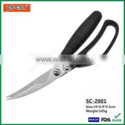 Wholesale Plastic Handle Kitchen Poultry Shears for Cutting Bone