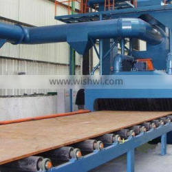 Wide application and easy operation rollers, thorough type shot blasting machine