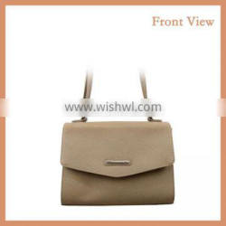 Simple Style PU Shoulder Bag with Long Shoulder Strap Made in China