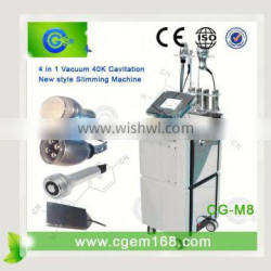CG-M8 Professional 4 in 1 Cellulite Reduction 2013 best rf cavitation body slimming machine for sale