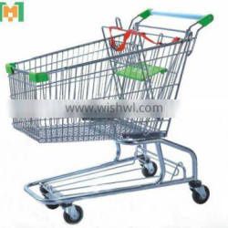 With baby seat Grocery shopping cart