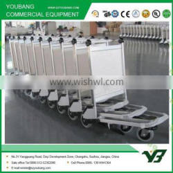 high security airline luggage trolley